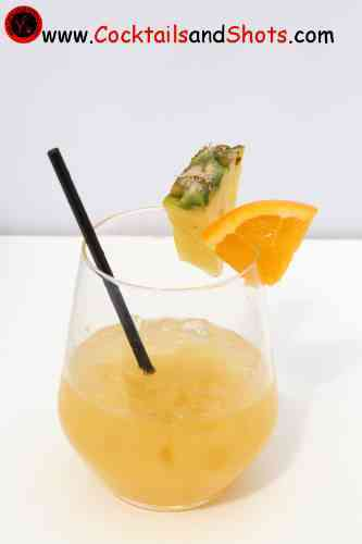 Pineapple Planter's Punch recipe ingrents - How to make a ... on