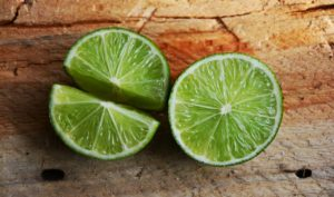 Mojito with fresh lime juice
