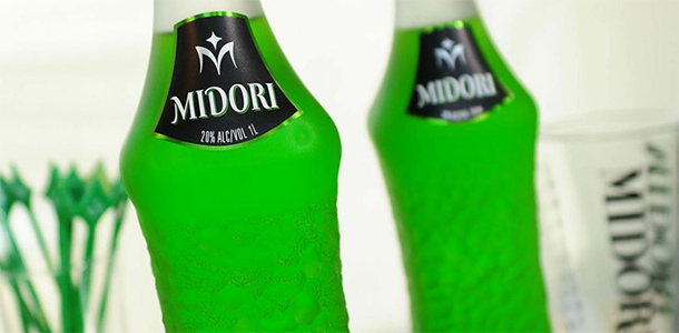 cocktails with midori